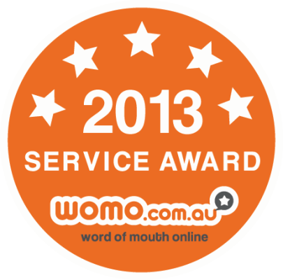 WOMO Service Award 2013
